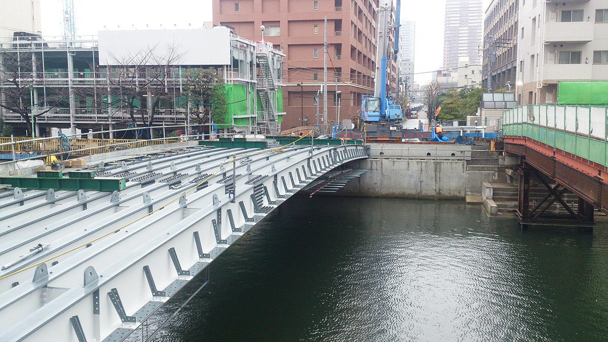 西中橋上部工工事