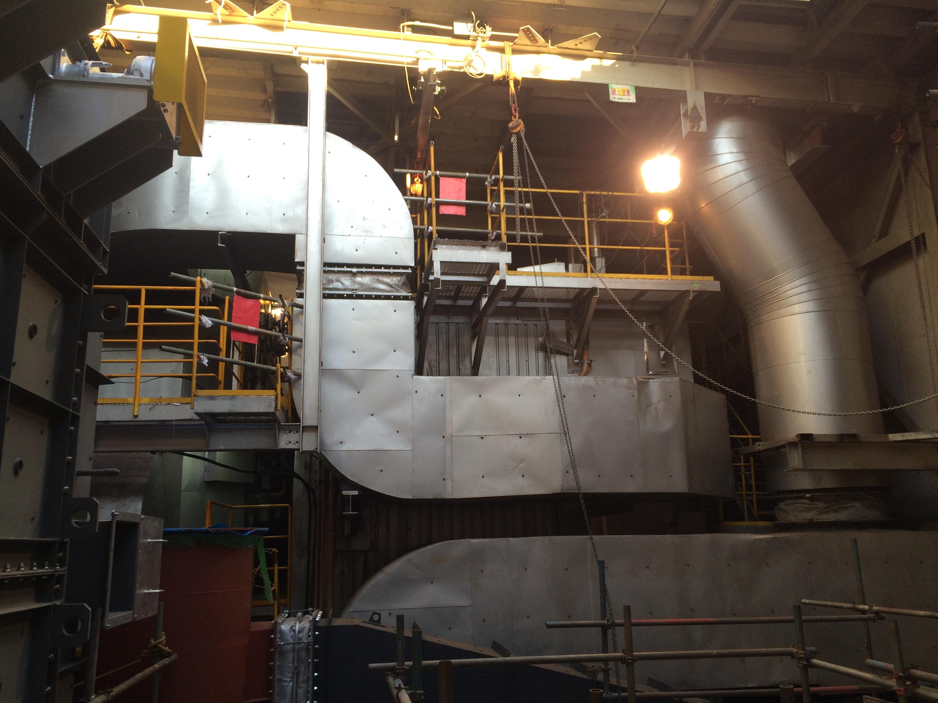 静岡県三島市清掃センター ごみ焼却処理施設基幹的設備整備工事